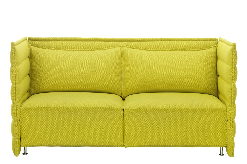 Volo 16 black, 01 chrome,Vitra,Acoustic Furniture,couch,furniture,loveseat,outdoor sofa,sofa bed,yellow