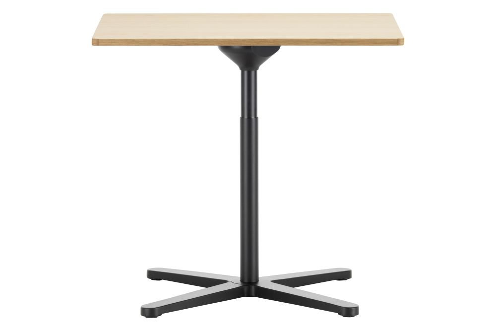 White melamine,Vitra,Dining Tables,end table,furniture,iron,musical instrument accessory,outdoor table,table