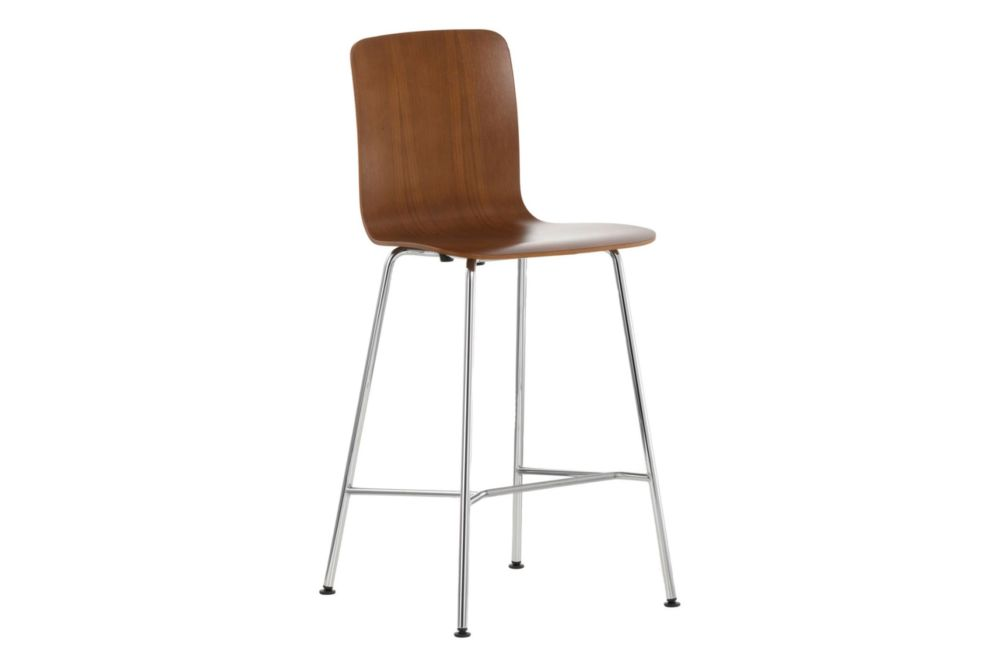 natural oak with protective varnish, 04 glides for carpet, 04 white,Vitra,Stools