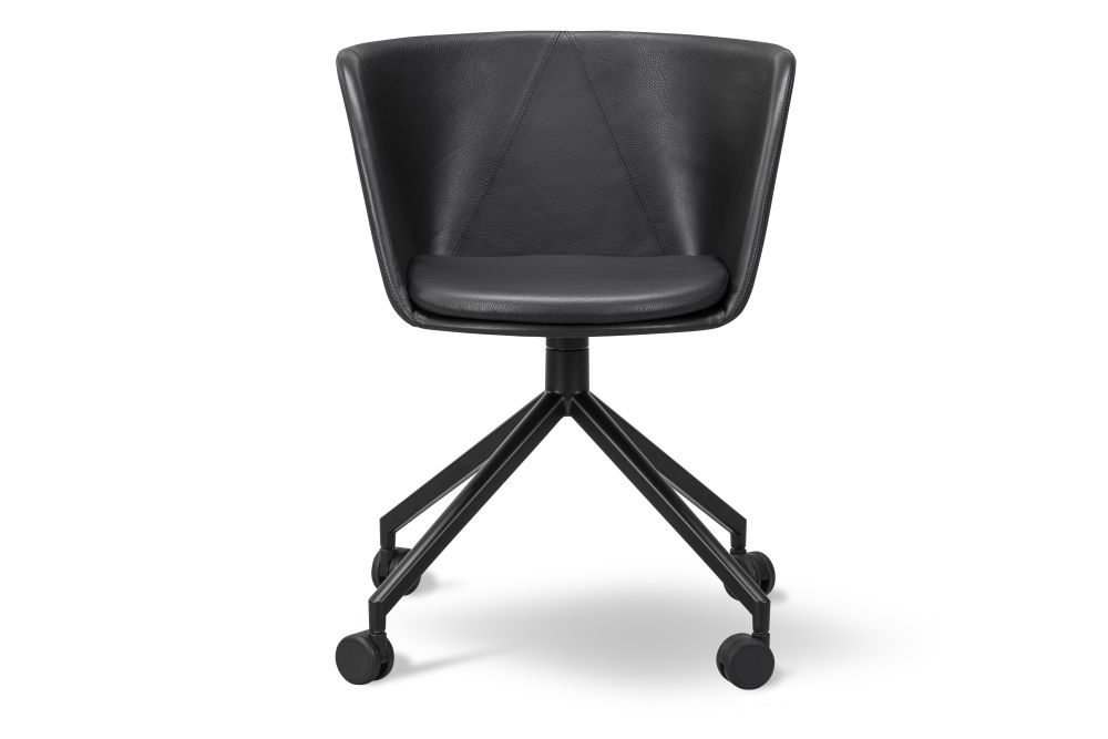 Black Painted, Fabric Group 1,Fredericia,Office Chairs