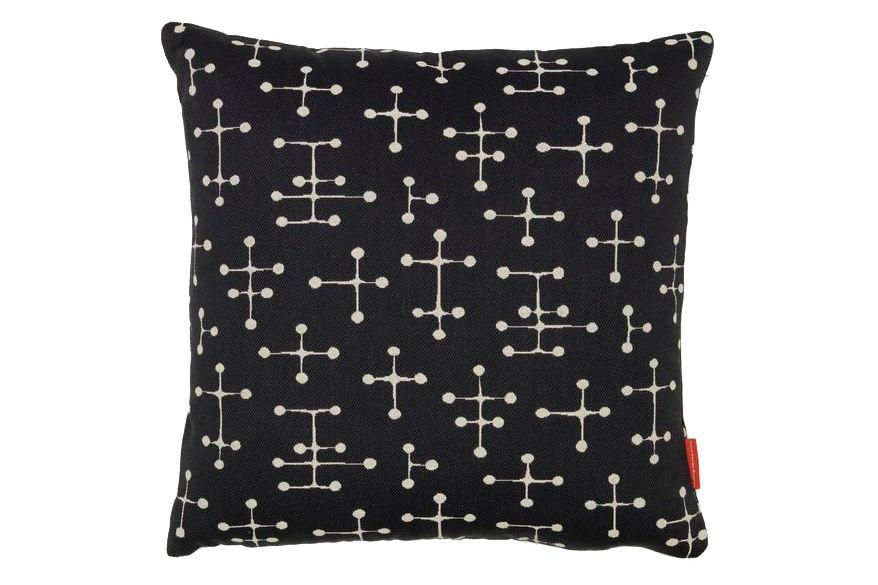 Small Dot Pattern Document Reverse Classic Maharam Pillow  by Vitra