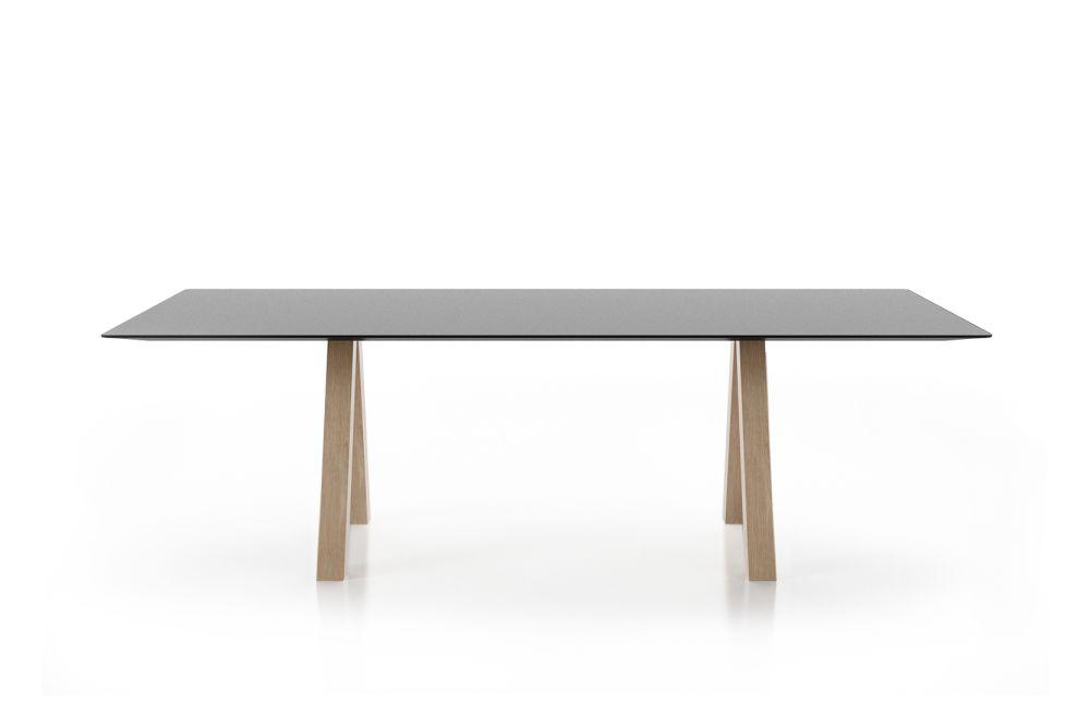 Matt Oak, Matt Oak, 200w x 90d x 74h cm,Viccarbe,Co-working Benches