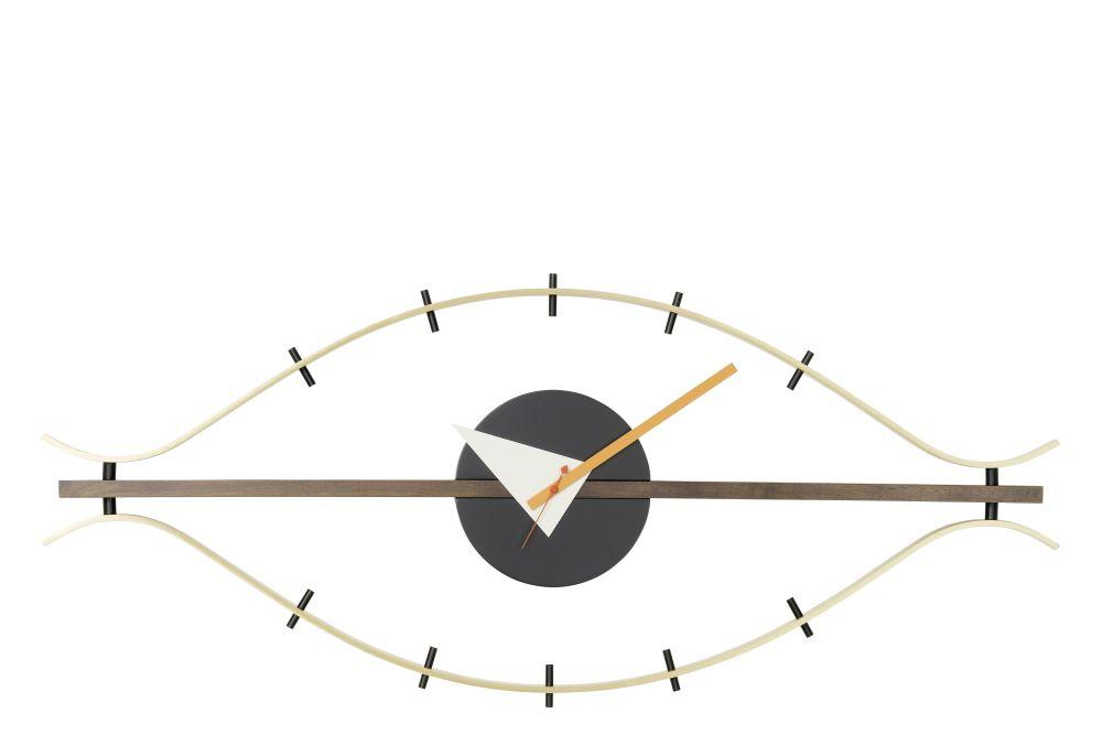 brass/walnut,Vitra,Clocks