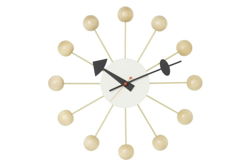 Ball Wall Clock by Vitra