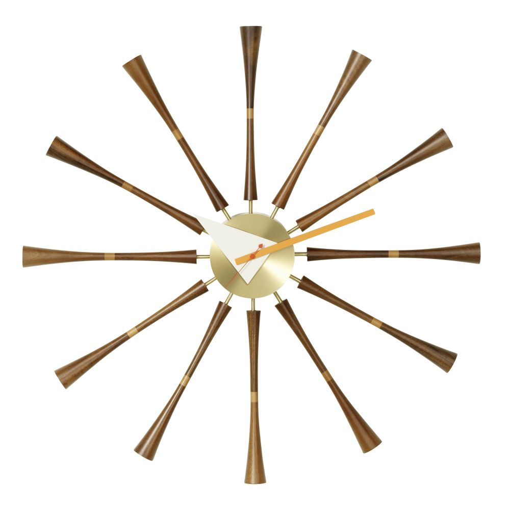 Spindle Wall Clock by Vitra