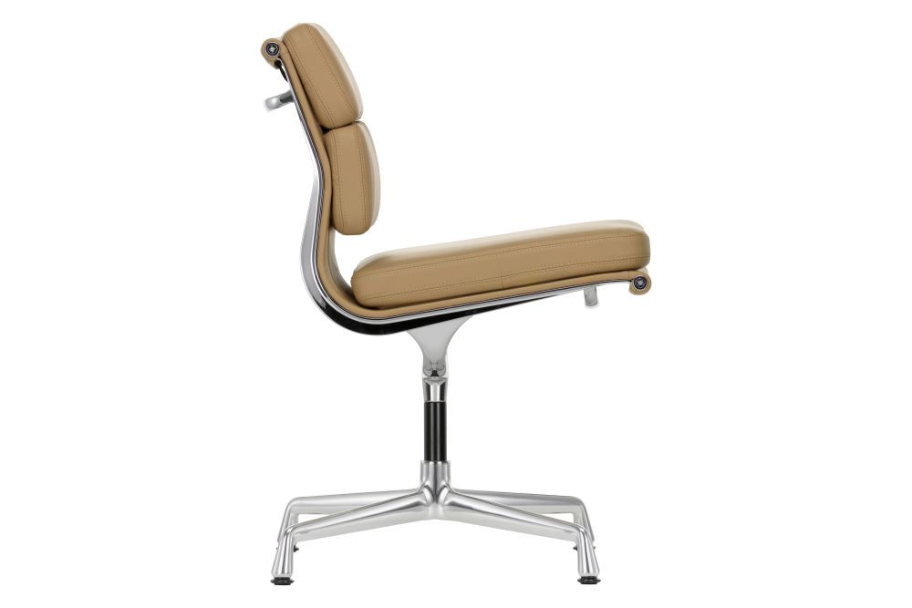 EA 205 Soft Pad Meeting Chair - Non Swivel, Without Armrests by Vitra