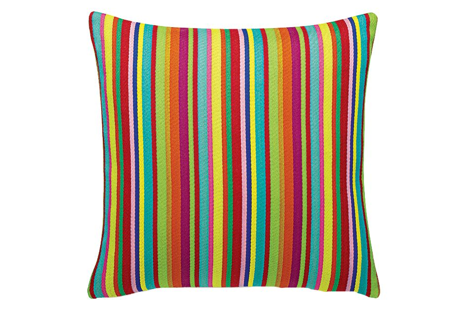 Millerstripe Multicolored Bright Maharam Classic Pillow  by Vitra