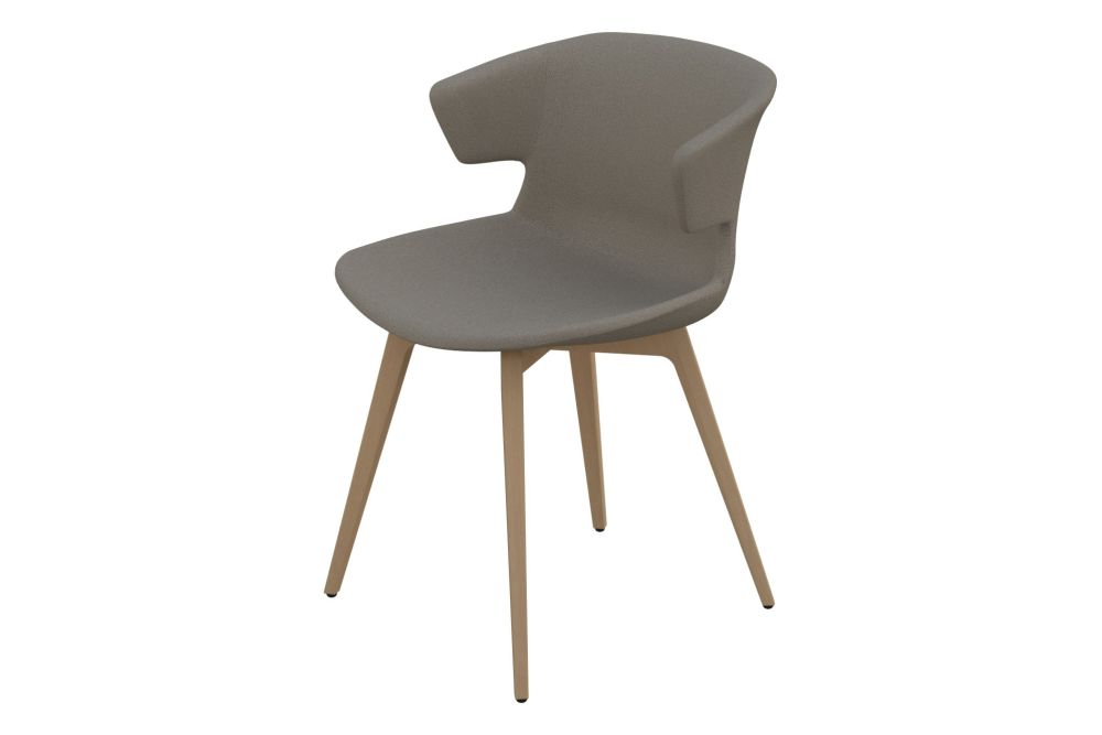 Pricegrp. B01, Natural Varnished Solid Beech Wood,Quadrifoglio,Breakout & Cafe Chairs