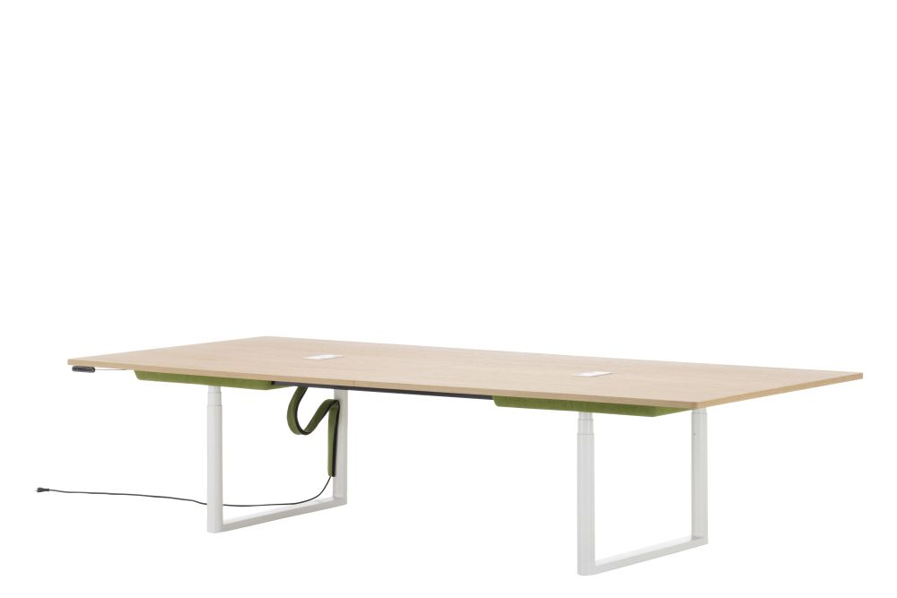 Tyde Rectangular Meeting Table, 320 x 140 by Vitra