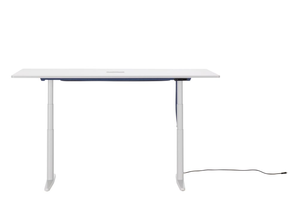 Tyde Sit-Stand Meeting Table, 200 x 100 by Vitra