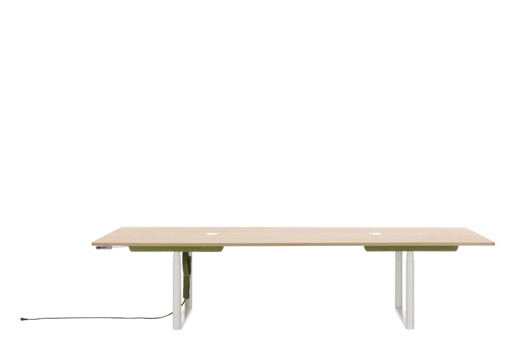 Tyde Sit-Stand Meeting Table, 320 x 140 by Vitra