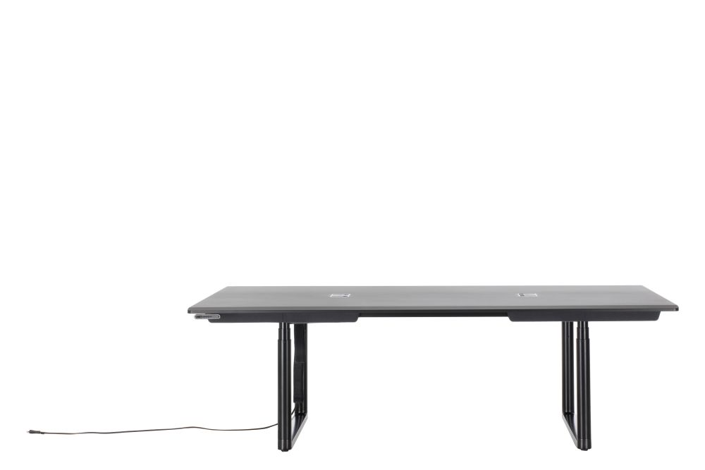 Tyde Sit-Stand Meeting Table, 240 x 140 by Vitra
