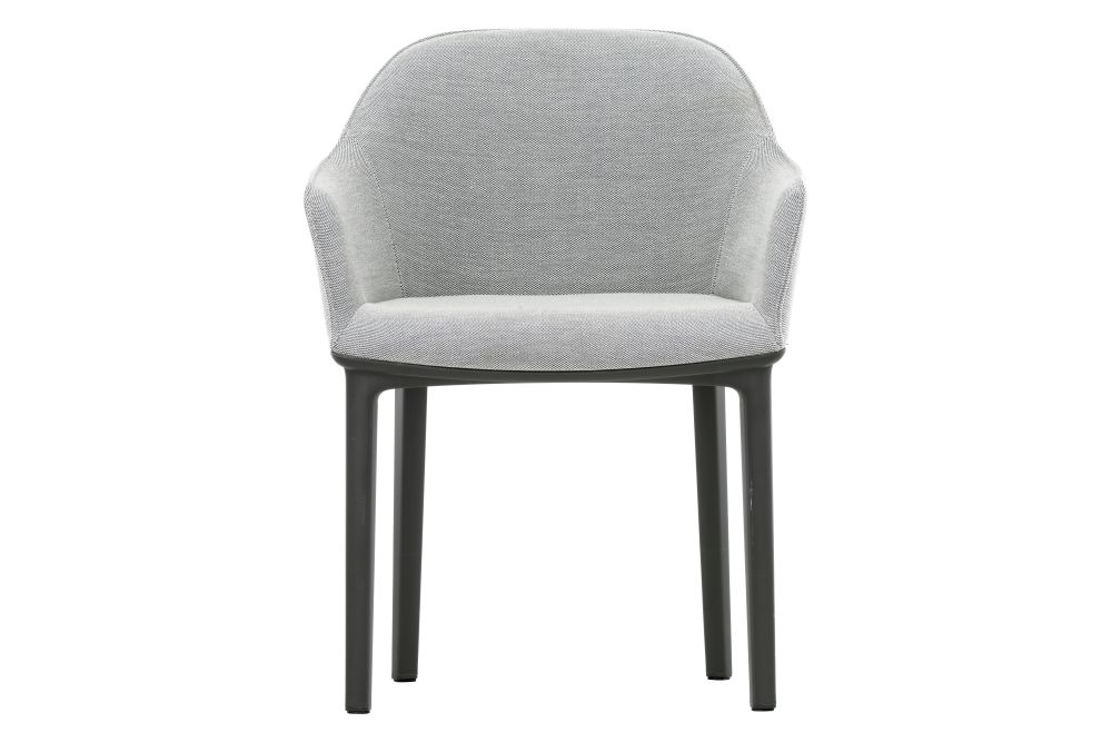 Softshell Dining Chair with Four Legged Base by Vitra