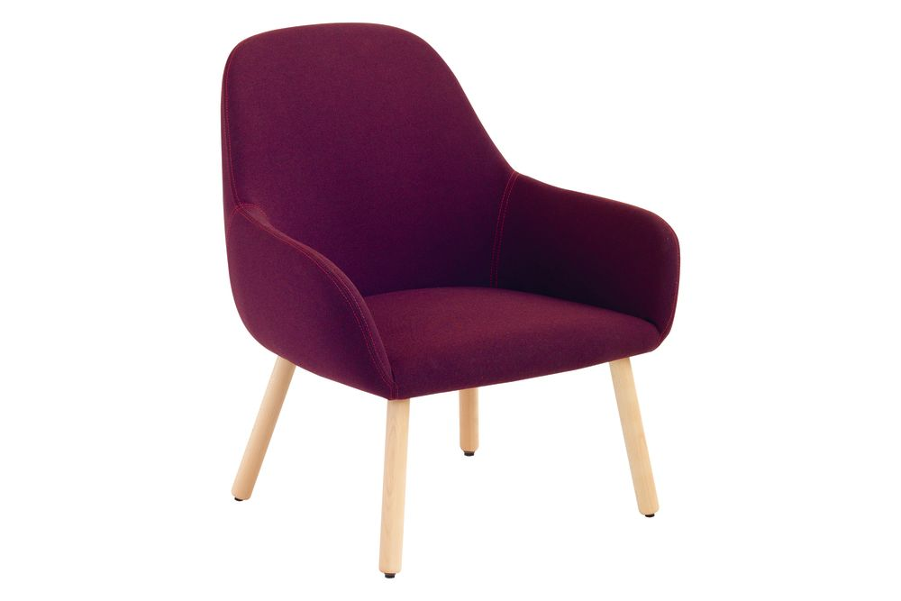 Pricegrp. Cat.a, Maple stained beech wood,et al.,Breakout Lounge & Armchairs