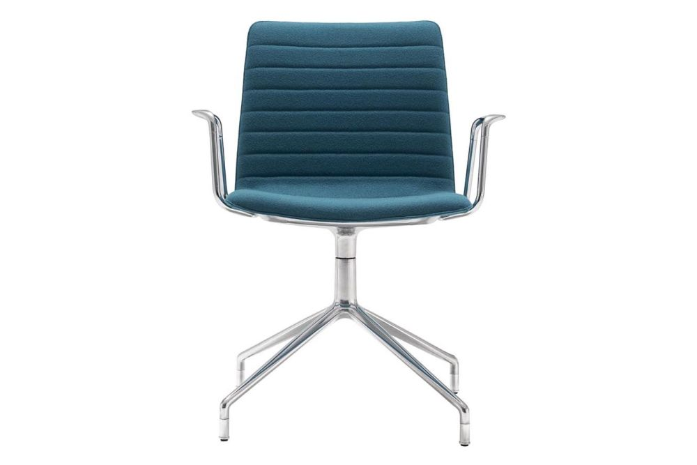 Andreu World Jacquard One, Polished Aluminium,Andreu World,Conference Chairs
