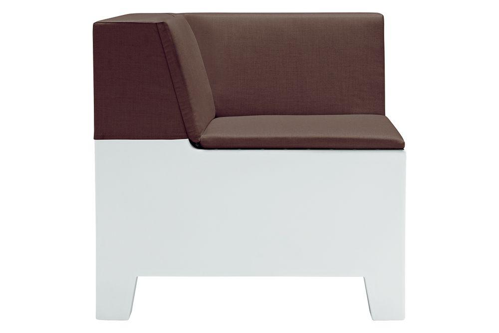 SOLIDS&STRIPES - Sunbrella 3778, PANTONE 427 C Ice white,et al.,Breakout Lounge & Armchairs