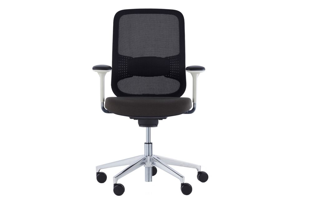 Price Group 3, Black Nylon, Black Frame, Backrest Upholstery Plate Black, Black Technical Mesh,Orangebox,Task Chairs
