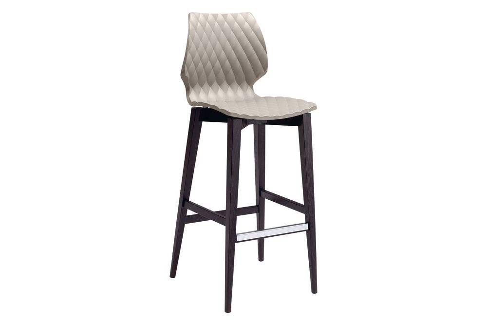 RAL 9016 Traffic white, Maple stained beech wood,et al.,Workplace Stools