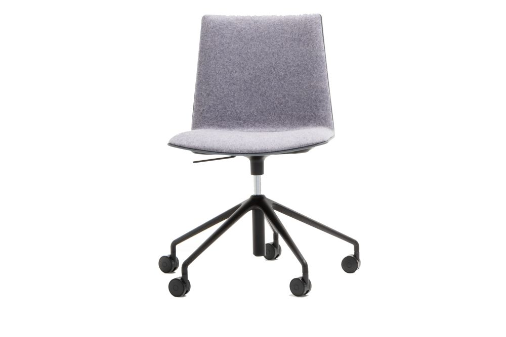 Andreu World Jacquard One, Polished Aluminium, Thermo-polymer 6000,Andreu World,Conference Chairs
