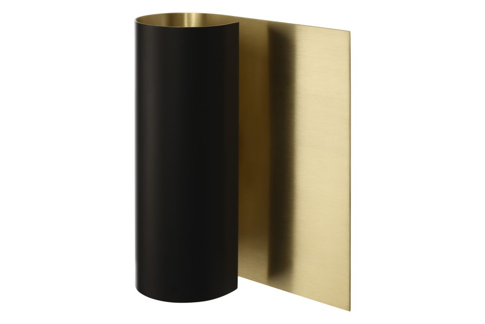 Black with satin brass,CTO Lighting,Wall Lights