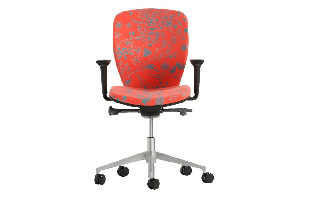 Price Group 3, Polished Aluminium, 6.5cm Black Castor,Orangebox,Task Chairs
