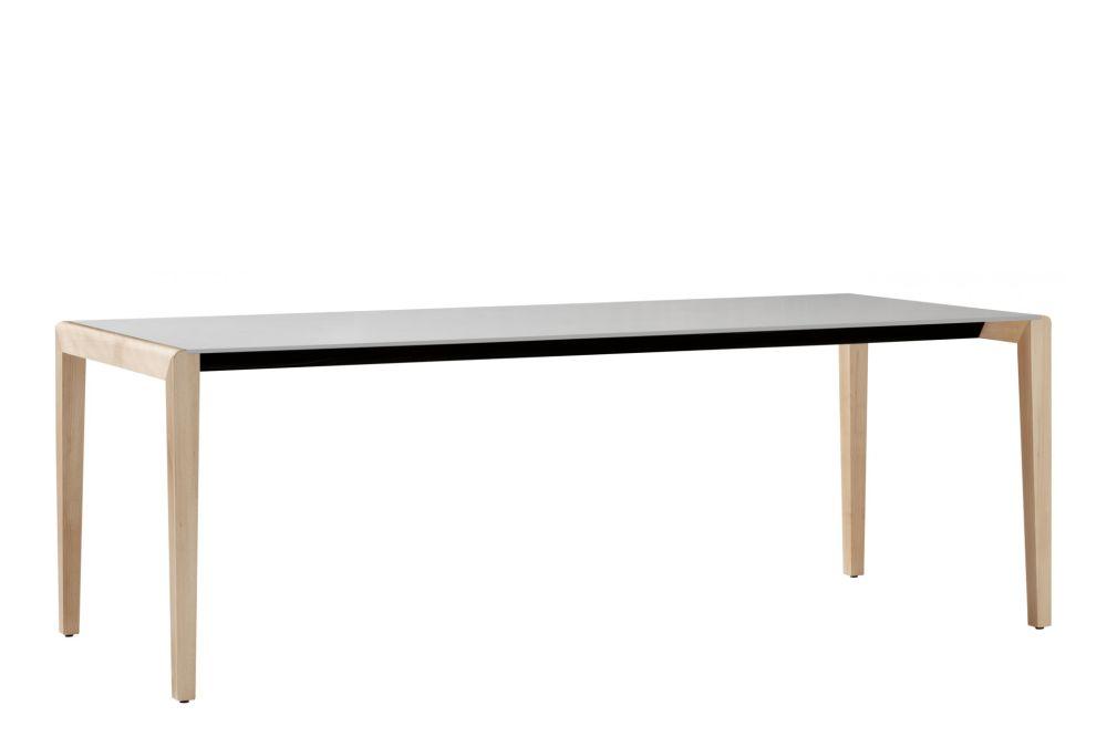 Full Colour White, Natural ash wood, 75h x 100w x 100d cm,et al.,Fixed Height Desks