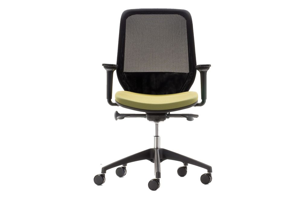 Price Group 3, Black Nylon, Fire Red, 6.5cm Black Castor - Nylon Base,Orangebox,Task Chairs