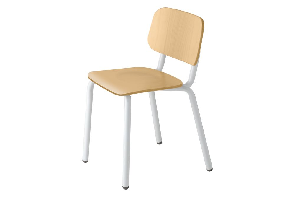 Maple stained beech wood, Traffic White RAL 9016,et al.,Breakout & Cafe Chairs