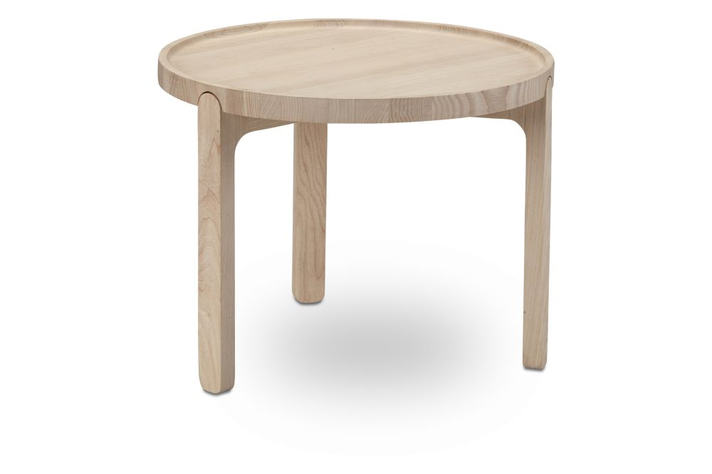 Indskud Tray Table Natural Oak Ø48,Skagerak,Coffee & Side Tables