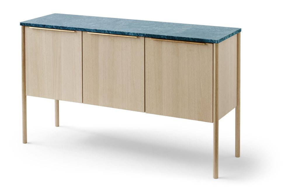 Green Marble Tabletop,Skagerak,Cabinets & Sideboards
