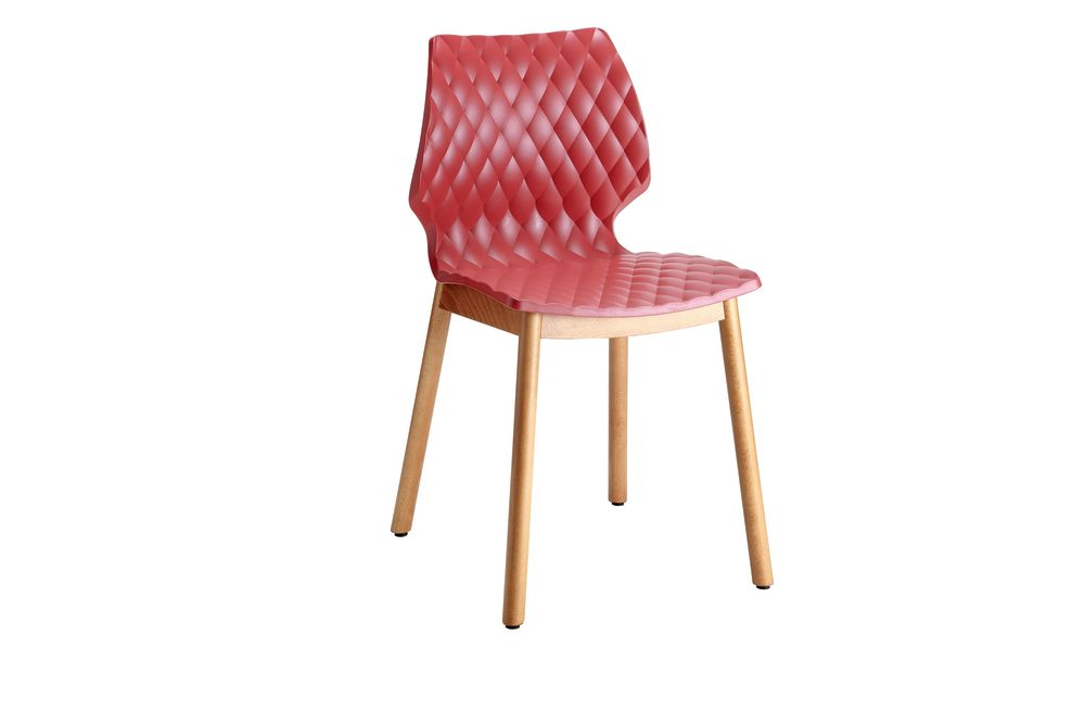 RAL 9016 Traffic white, Maple stained beech wood,et al.,Breakout & Cafe Chairs