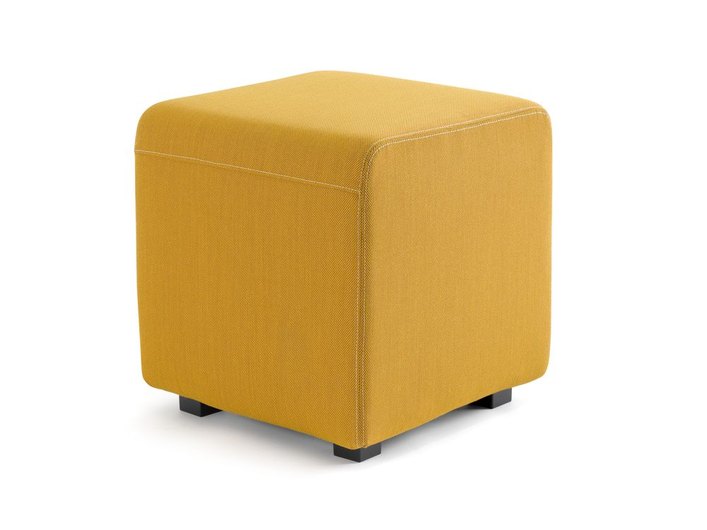 beige,furniture,orange,ottoman,yellow