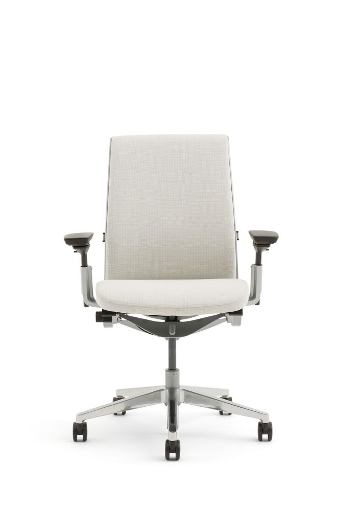 Steelcase,Task Chairs,armrest,beige,chair,furniture,line,material property,office chair,product,white