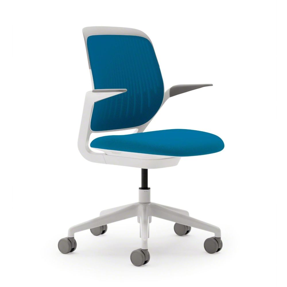 Steelcase,Task Chairs,azure,chair,furniture,line,material property,office chair,product
