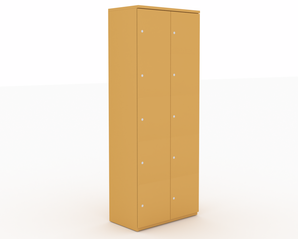 Steelcase,Lockers,beige,cupboard,furniture,wardrobe,yellow