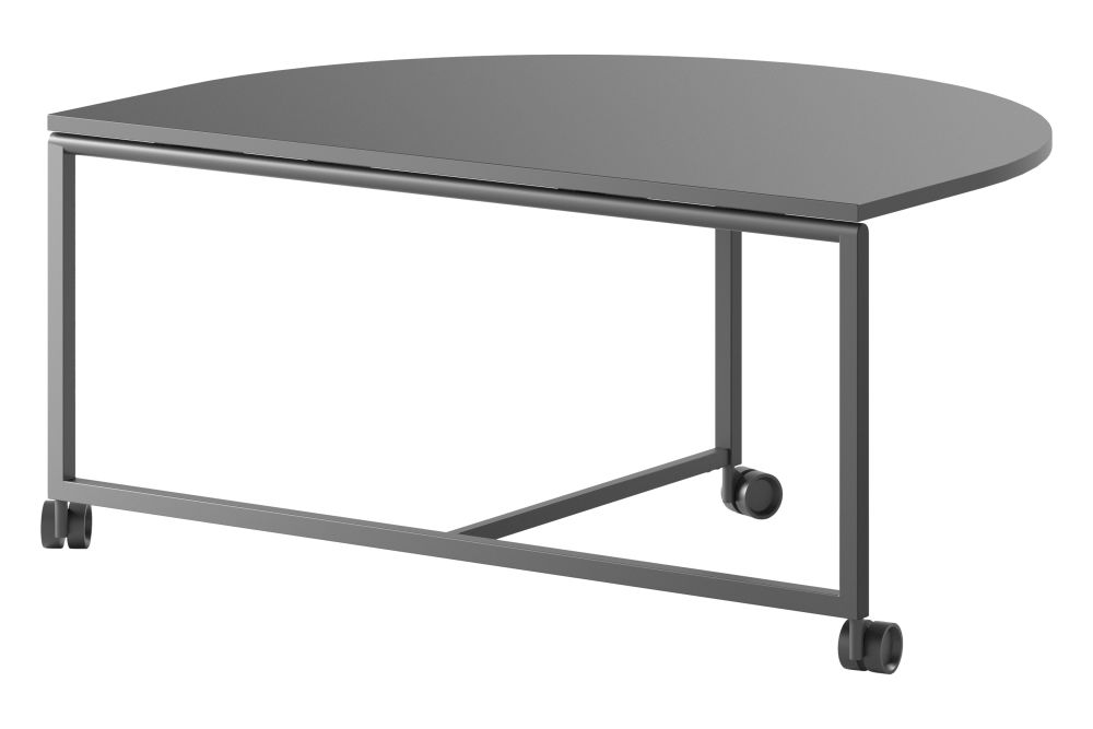 L1 Linoleum Charcoal 4166,Fantoni,Fixed Height Desks