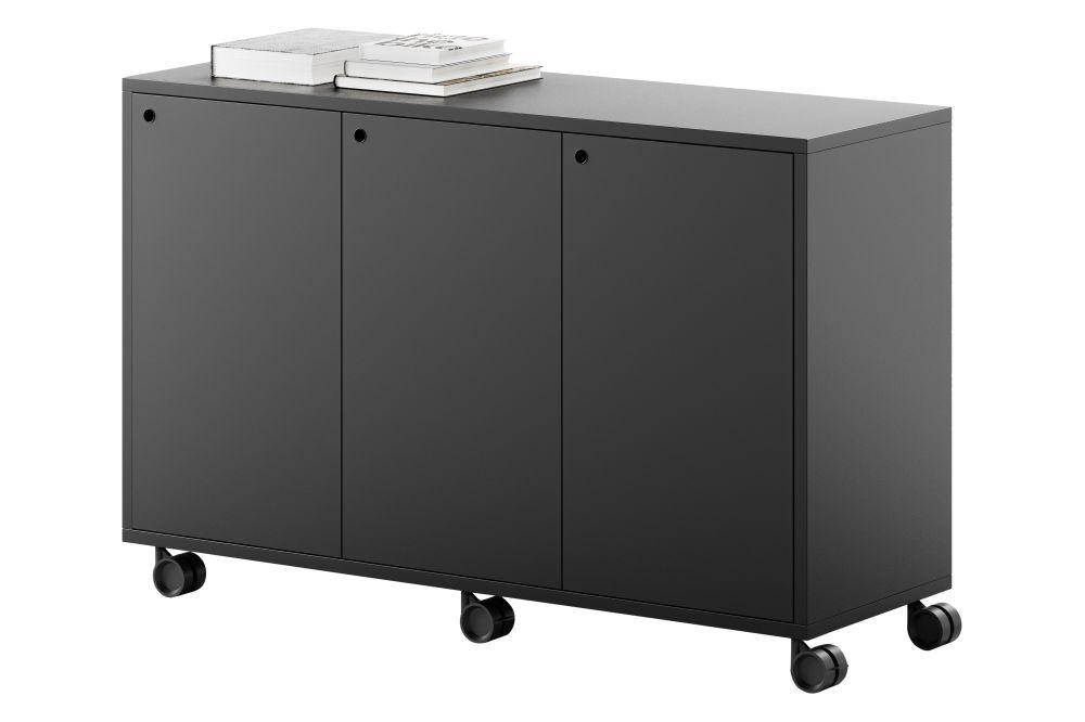 GG Graphite Grey Melamine,Fantoni,Workplace Cabinets & Shelving
