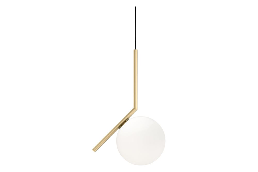Metal Brushed Brass, S1,Flos,Pendant Lights