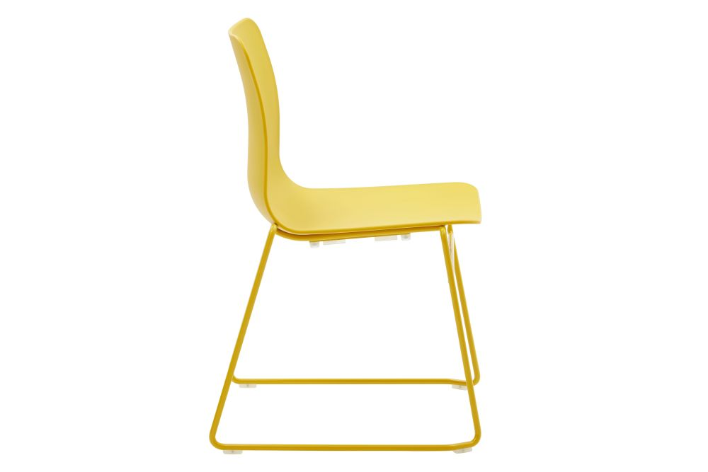 Lemon Yellow RAL 1012, White,naughtone,Breakout & Cafe Chairs