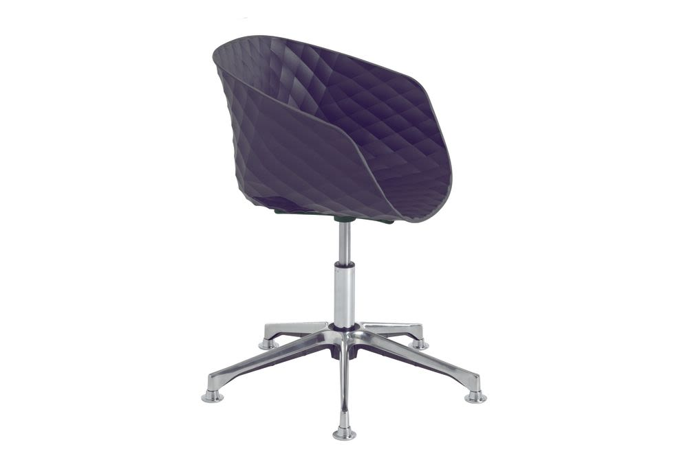 RAL 9016 Traffic white PP, Polished aluminium,et al.,Breakout Lounge & Armchairs