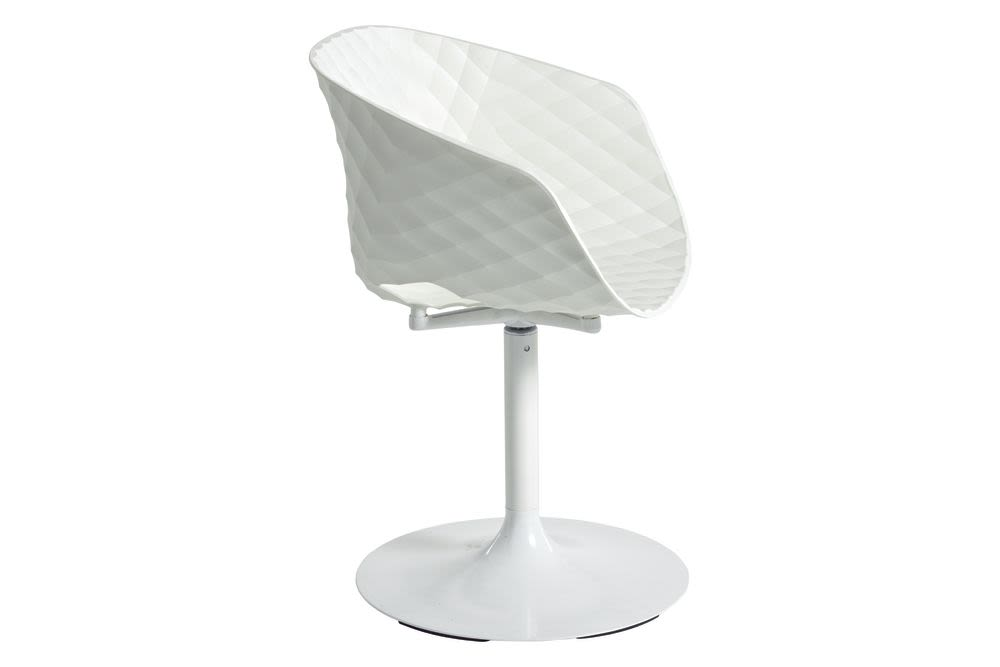 RAL 9016 Traffic white PP, CR Chrome,et al.,Breakout Lounge & Armchairs