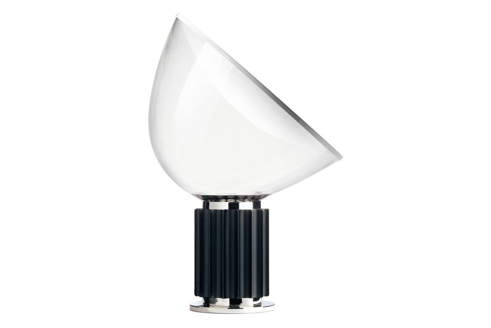 Metal Matt Black, Glass Shade,Flos,Table Lamps
