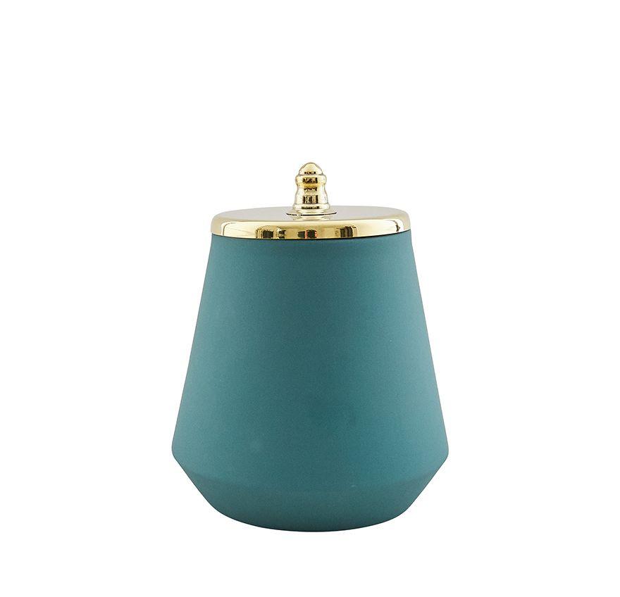 Green Large Jar,Hend Krichen,Vases