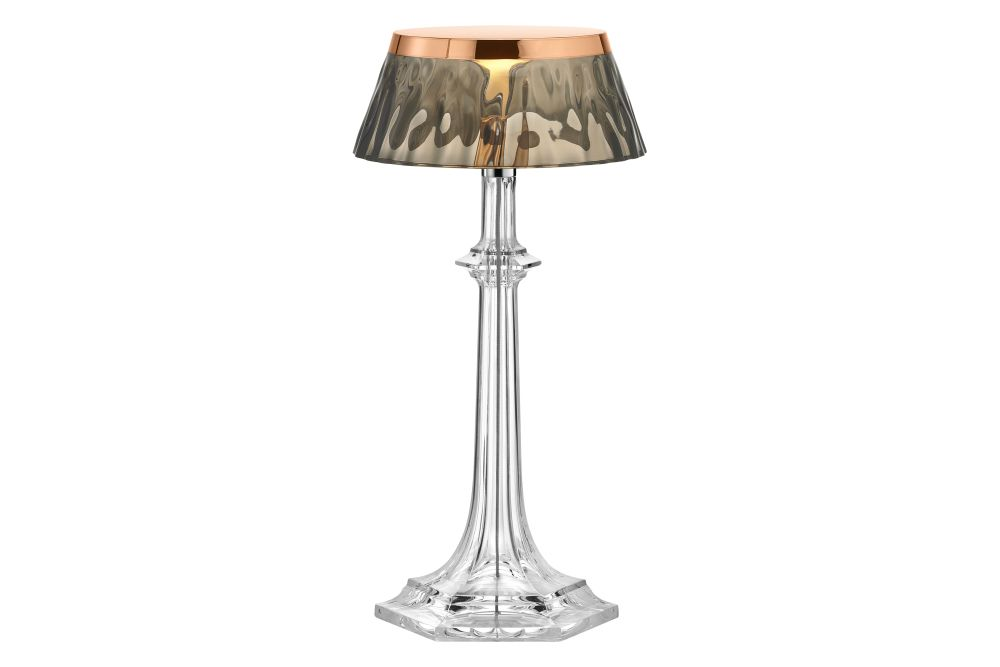 PMMA Polished Copper, PMMA Red,Flos,Table Lamps