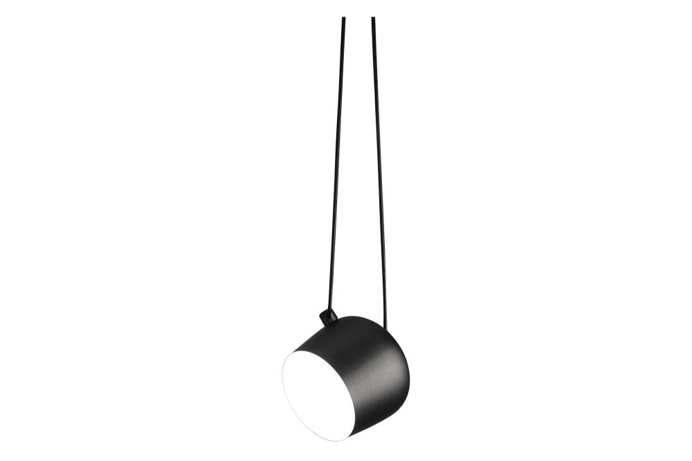 Photo-Etched Polycarbonate Black, Large, Yes, 100W 230V,Flos,Pendant Lights