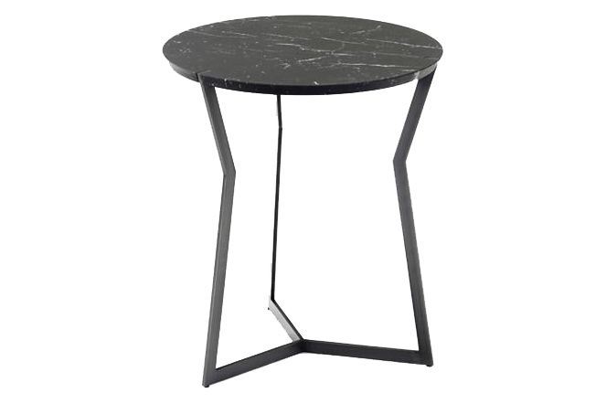 Golden Lacquered Metal, Carrara Marble,Coedition,Coffee & Side Tables