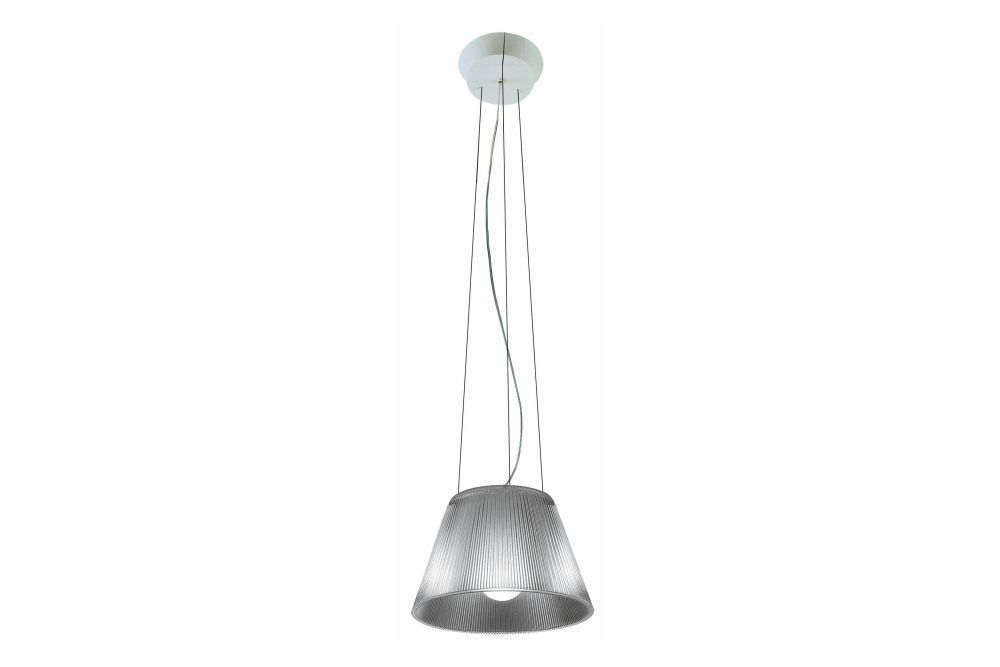 Moon S1, Glass, Clear, Small,Flos,Pendant Lights
