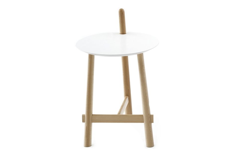 Natural Beech, White Lacquered,Coedition,Coffee & Side Tables