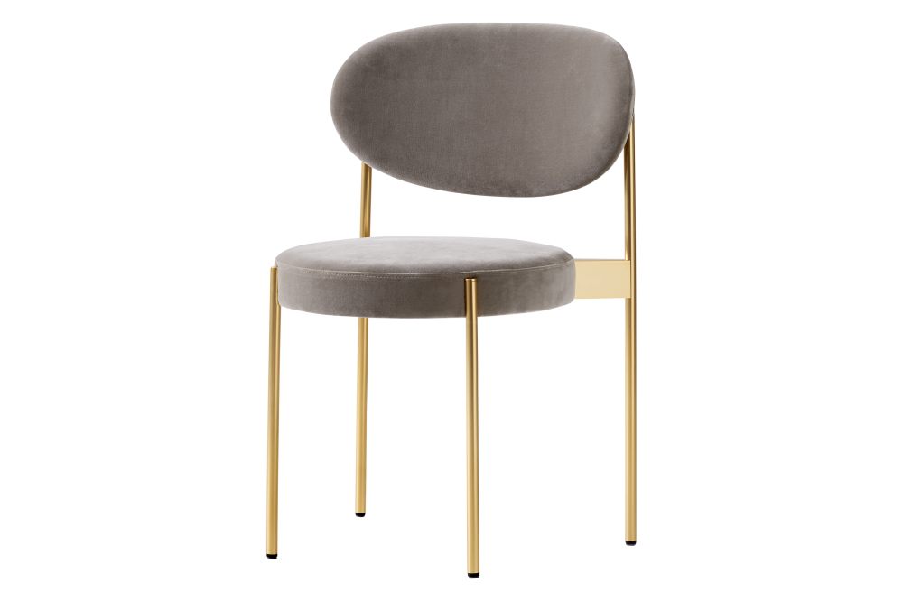 Cuba, Frame Brass,Verpan,Dining Chairs