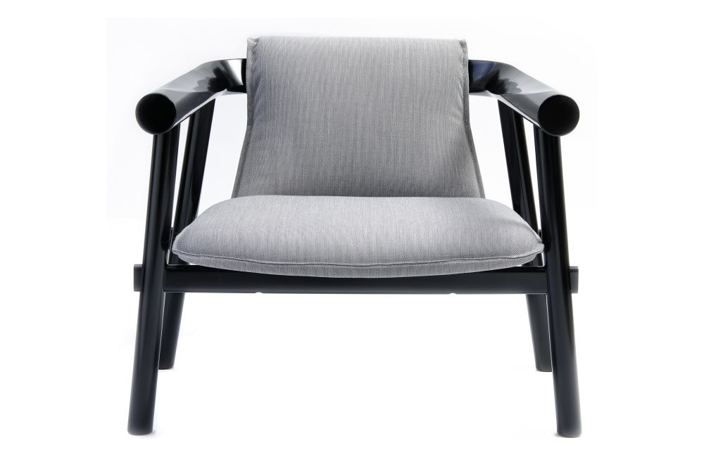 Price Category B, Black Lacquered Beech,Coedition,Lounge Chairs